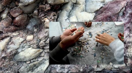 SdC_Micro plastics_rose quartz conglomerate